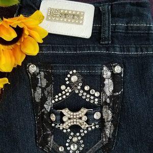 """Jr's """"Seven"""" skinny jeans"""